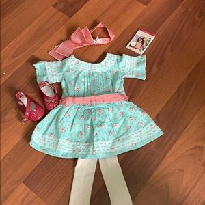 Retired American Girl Samantha's special day dress
